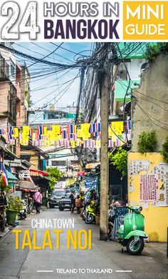 Talat Noi, one of the lesser visited neighborhoods in Bangkok's Chinatown | Tieland to Thailand