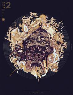 ▲ ▲ ▲ Velvet Purp Personal artwork exploring new techniques and Japan influences.