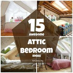 15 awesome attic bedroom ideas