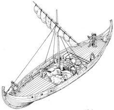 Hammered Out Bits: August 2015 Vikings, Viking Ship, Viking Age, Viking Longship, Ship Drawing, Man Of War, Naval History, Wooden Ship, High Fantasy