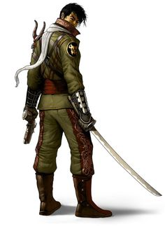 Dragon Uniform - The Secret World Concept Art