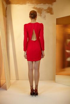 Talia silk dress wild strawberry, Rodebjer. love it.