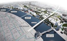Projekat spuštanja Beograda na reke vredan osam milijardi evra - Građevinarstvo