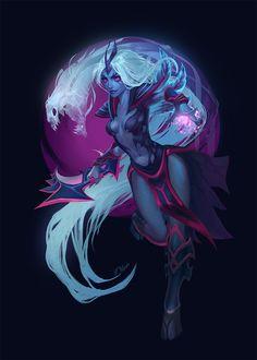 ArtStation Call me Vengeance Olivi Art Dark Fantasy Art, Fantasy Girl, Game Character Design, Character Art, Defense Of The Ancients, Dota 2 Wallpaper, Templer, Fantasy Paintings, Fantasy Inspiration