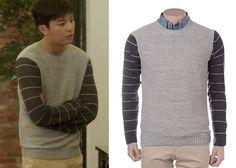 "Yeon Woo-Jin 연우진 in ""Marriage, Not Dating"" Episode 3.  Renoma Sweater  #Kdrama #MarriageNotDating 연애말고결혼 #YeonWooJin"