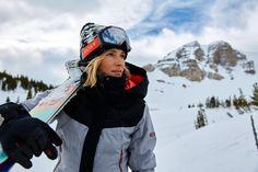Team rider Lena Stoffel #ROXYsnow