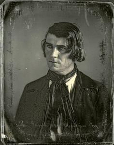 ca. 1847,  portrait of Thomas Forsyth
