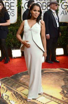 Kerry Washington at the 2014 Golden Globes.