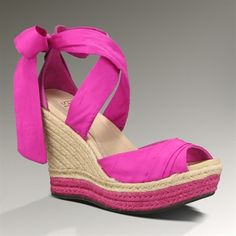 UGG® Australia Luciana Tie Strap Espadrille    Not with a broken ankle *SIGH*
