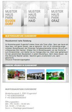 MUSTERHAUSPARK || kurze, virtuelle Führung auf Facebook || kurzer Einblick zu den Musterhauspark Parks Facebook, Parks, App, Canning, Graz, Knowledge, Apps, Conservation, Parkas