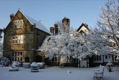 A festive feel at Ockenden Manor.