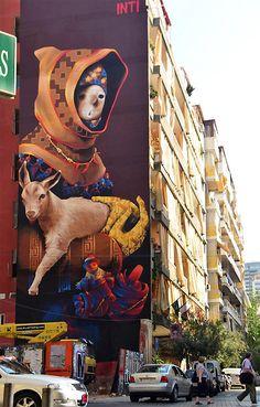 Chilean artist street artist INTI » Lost At E Minor: For creative people