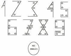 144 / 16 Etc. – Harold Egbert Camping – Arabic Numbers – Angles ...