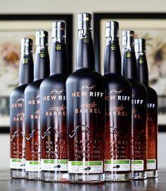 New Riff Single Barrel Rye Rye Whiskey, Wine Rack, Barrel, Bottle, Food, Barrel Roll, Flask, Essen, Barrels