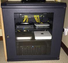 An updated on my home test lab build including ESXi Mac Mini and an ESXi White Box build Mac Mini, Home Office Setup, Desk Setup, Network Rack, Macbook Pro Sale, Server Rack, Iphones For Sale, Unlock Iphone, Box Building