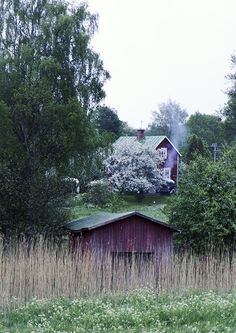 Åland Down On The Farm, Helsinki, Finland, Around The Worlds, Cabin, House Styles, Simple, Wood, Frame