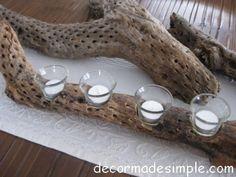Cholla Cactus Votive Candle Holder