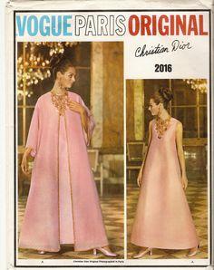 1960s Vogue Paris Original Christian Dior Tent by CherryCorners