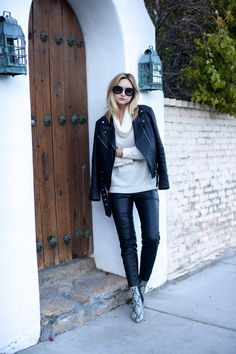 CASHMERE & LEATHER | Late Afternoon Blog