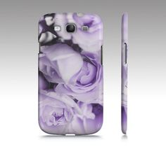 Purple Lilac Lavender Roses iPhone Case OR by MySweetReveries, $40.00