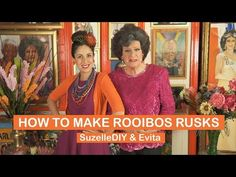 How to make Rooibos Rusks with Evita Bezuidenhout - YouTube