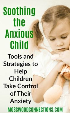 Soothing the Anxious Child; tools and strategies to help children take control of their anxiety