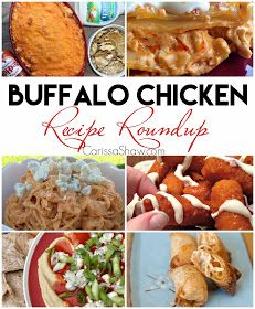 Buffalo Chicken Recipe Roundup