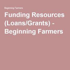 afsic grants loans farmers