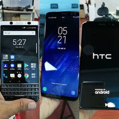 "#inst10 #ReGram @ranbirsen: Wow! Three Smartphones for #review on the same day. #samsungS8  #HTCU11 and #BlackberryKeyone. ...... #BlackBerryClubs #BlackBerryPhotos #BBer ....... #OldBlackBerry #NewBlackBerry ....... #BlackBerryMobile #BBMobile #BBMobileUS #BBMobileCA ....... #RIM #QWERTY #Keyboard .......  70% Off More BlackBerry: "" http://ift.tt/2otBzeO ""  .......  #Hashtag "" #BlackBerryClubs "" ......."