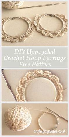 , Silver Sparkle Ear Jackets- ear jacket earrings/ silver ear jacket/ front back earrings/ mode. , Silver Sparkle Ear Jackets- ear jacket earrings/ silver ear jacket/ front back earrings/ modern earrings/ glam earrings/ gifts for her/ edgy - Fine Je. Crochet Jewelry Patterns, Crochet Earrings Pattern, Crochet Accessories, Crochet Ideas, Crochet Tutorials, How To Crochet Jewelry, Diy Knitting Earrings, Diy Yarn Earrings, Earrings Handmade