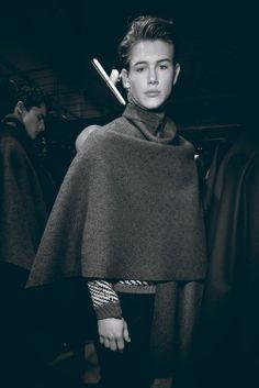 MILAN MEN'S FASHION WEEK autumn/winter 2014 ...   SOUP #soup #soupmagazine #soupdigital #backstage #mfw #fashion #ERMANNO SCERVINO