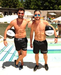 "Maksim  & Val Chmerkovskiy from ""Dancing with the Stars""! So hot! Teach me to dance, please!"