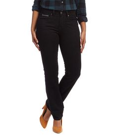 Love this Black Ink 505™ Straight-Leg Jeans - Women by Levi's on #zulily! #zulilyfinds