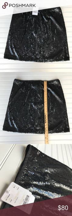 NWT Doncaster Black Sequin Skirt, Size 16 To die for super adorable Doncaster sequin Skirt, Black.  NWT!! Retails for $175 Size 16 Pet and smoke free home Check out my other listings for a bundle deal:) Doncaster Skirts