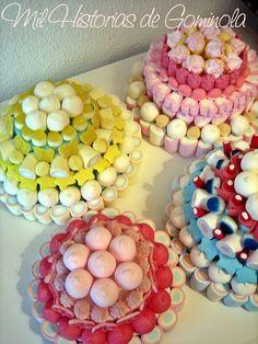Tartas chuches / gominolas / colores