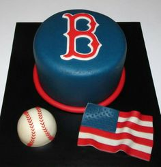 Enjoyable 59 Best Boston Red Sox Cakes Images Red Sox Cake Boston Red Sox Birthday Cards Printable Nowaargucafe Filternl