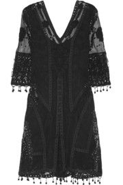 The only dress i'm probably getting from the Kate Moss '14 collection | Embroidered tulle and crocheted lace dress (net-a-porter)