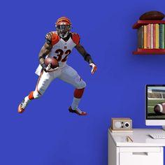 Fathead NFL Cincinnati Bengals Jeremy Hill Junior Wall Decal - 15-17042