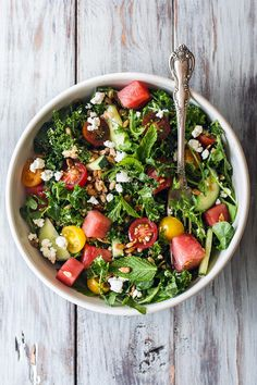 Early summer salad w