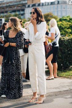 Copenhagen Fashion Week: The Street Style We Loved Look Street Style, Street Looks, Daily Fashion, Everyday Fashion, Fashion Outfits, Womens Fashion, Fashion Trends, Fashionable Outfits, Style Fashion