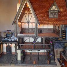 Tudor Dolls House by Kevin Jackson