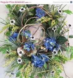 SAVE 15 Spring Wreaths Gardening Spring & Summer by LadybugWreaths, $127.47