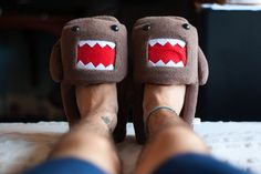 Domo slippers, I must have you!