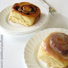 Delightful Repast: Chelsea Buns and Cinnamon Rolls