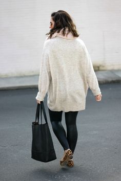 With Style & Grace | Leggings Friendly Sweater