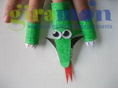 dragon finger puppet