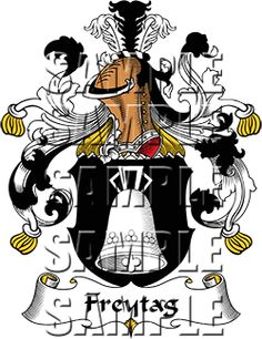 Freytag Family Crest apparel, Freytag Coat of Arms gifts
