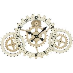 cogs wall clock