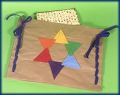 Easy Matzo Cover craft for kids