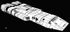 Dragon Class SDB WIP by biomass.deviantart.com on @deviantART